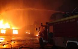 Cháy lớn tại Khu chế xuất Linh Trung 3, thiệt hại hàng trăm tỉ đồng