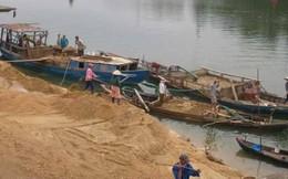 Huyện Phú Xuyên họp khẩn cấp về tình trạng cát tặc