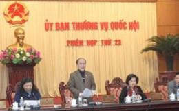 Ngày 13/1, khai mạc phiên họp 24 của UBTV Quốc hội