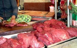 Cảnh báo tình trạng bơm nước vào thịt trâu bò