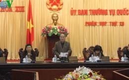 Bế mạc Phiên họp thứ 26 của Ủy ban Thường vụ Quốc hội
