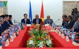 Thủ tướng hội kiến Chủ tịch Quốc hội Haiti
