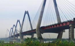 Hà Nội: Hợp long cầu Nhật Tân 13.600 tỷ đồng