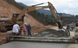 Thông xe kỹ thuật tuyến đường Pom Lót- Huổi Puốc