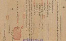 Châu bản triều Nguyễn - cơ sở pháp lý về chủ quyền Việt Nam