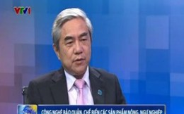 Bộ trưởng Khoa học và Công nghệ trả lời về việc áp dụng KHCN gia tăng giá trị cho nông, thủy sản