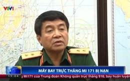 Trung tướng Võ Văn Tuấn trả lời phỏng vấn về tai nạn máy bay