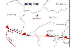 Lại thêm 2 trận động đất ở Bắc Trà My và A Lưới
