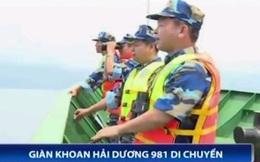 Cập nhật diễn biến Trung Quốc dịch chuyển giàn khoan Hải Dương 981
