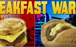 Cuộc cạnh tranh gay gắt quanh bữa sáng của người Mỹ