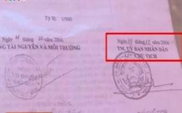 Vụ cấp sổ đỏ ở Đường Lâm: UBND thị xã Sơn Tây lập đoàn kiểm tra
