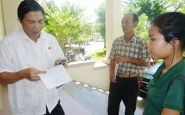 Thư ký thông báo, ông Nguyễn Bá Thanh không thể về tiếp xúc cử tri