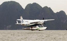 """Khách """"chán"""" thủy phi cơ vì không được quay phim chụp ảnh Vịnh Hạ Long."""