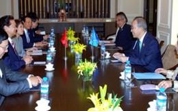 Thủ tướng gặp Tổng Thư ký Liên Hợp Quốc