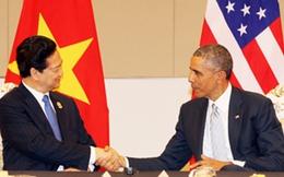 Thủ tướng Nguyễn Tấn Dũng gặp chính thức Tổng thống Mỹ Barack Obama