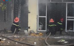 Cháy dữ dội tại xưởng sản xuất nến ở Hải Phòng