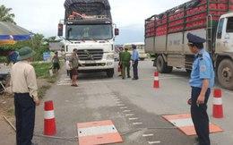 Tăng nặng mức phạt đối với xe quá tải từ 1/1/2015