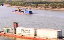 700.000 tấn hàng được vận chuyển bằng đường biển