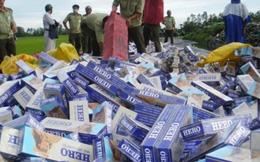 Dừng tái xuất, thuốc lá nhập lậu sẽ phải tiêu hủy