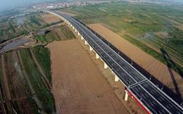 Cận cảnh cầu Nhật Tân và con đường mới hiện đại nhất Thủ đô