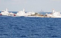 Cận cảnh tàu và trực thăng Trung Quốc xâm phạm biển Việt Nam