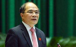 Chủ tịch Quốc hội: Việt Nam kiên quyết bảo vệ chủ quyền