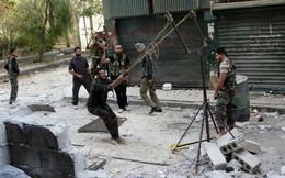 Cận cảnh bom tự chế, ná thun, xe bắn đá của quân nổi dậy Syria