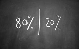 80 - 20: Tỉ lệ vàng của thành công trong kinh doanh