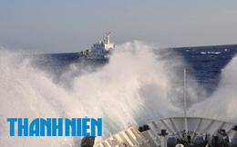 Cận cảnh: Tàu hải cảnh Trung Quốc điên cuồng tấn công tàu kiểm ngư Việt Nam