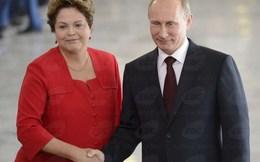 Nga-Brazil mục tiêu nâng kim ngạch thương mại lên 10 tỷ USD