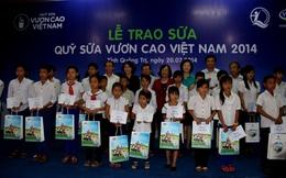 """Qũy sữa """"Vươn cao Việt Nam"""" đến với trẻ em Quảng Trị"""