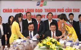 FPT và UBND thành phố Cần Thơ hợp tác thúc đẩy phát triển CNTT-VT