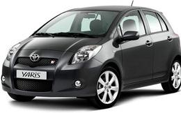 Thu hồi xe Toyota Yaris trên toàn cầu