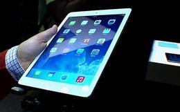 iPad Air có giá trị thực chỉ 274 USD