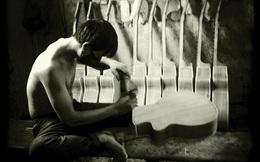 Xưởng sản xuất ghita thủ công ở Sài Thành dưới ống kính camera phone