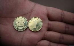 Đón Tết, Trung Quốc phát hành đồng xu hình con ngựa
