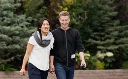 Mark Zuckerberg cùng với vợ làm từ thiện nhiều nhất nước Mỹ năm 2013