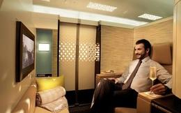 Cận cảnh khoang VIP siêu xa xỉ bên trong máy bay của hãng Etihad Airways