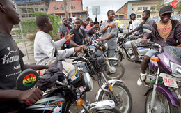 Xe ôm - Nghề 'hot' ở Liberia
