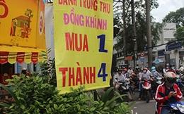Bánh trung thu ở Sài Gòn ế ẩm, mua 1 tặng 3