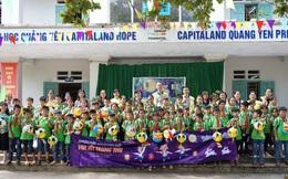 CapitaLand trao học bổng và quà cho hơn 1.400 học sinh tại bốn trường CapitaLand Hope