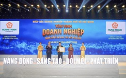 Tập đoàn Hưng Thịnh thắng lớn tại giải thưởng Doanh nghiệp, Doanh nhân TP.HCM tiêu biểu năm 2020