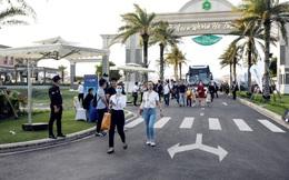Diện mạo mới của NovaWorld Ho Tram gây ấn tượng với khách tham quan