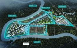 Cận cảnh năm phân khu chức năng của thành phố bên sông Waterpoint