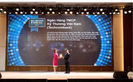 """Techcombank lọt top 50 """"Thương hiệu nhà tuyển dụng hấp dẫn nhất 2020"""" với sinh viên Việt Nam"""