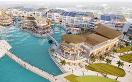 Triển khai trung tâm thương mại trên mặt nước tại Ecopark