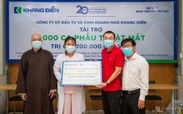 Khang Điền tài trợ chương trình phẫu thuật mắt cho 1000 bệnh nhân vùng sâu vùng xa