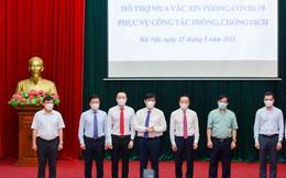 Hai doanh nghiệp do ông Đỗ Minh Phú đứng đầu trao tặng 20 tỷ đồng vào Quỹ Vaccine phòng Covid-19