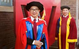 ĐH Western Sydney trao bằng Tiến sĩ danh dự cho TS Lý Quí Trung