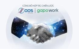 GapoWork hợp tác với OOS Software hỗ trợ doanh nghiệp quản trị nhân sự